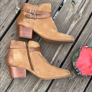 Alex Marie Fashion Booties suede